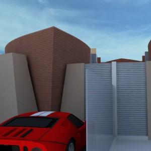 Projeto Casa Geminada 01 - Vista 01