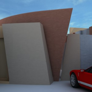Projeto Casa Geminada 01 - Vista 02