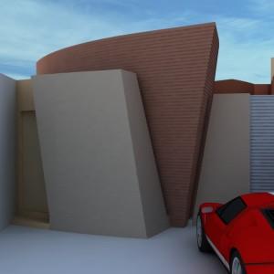 Projeto Casa Geminada 01 - Vista 03