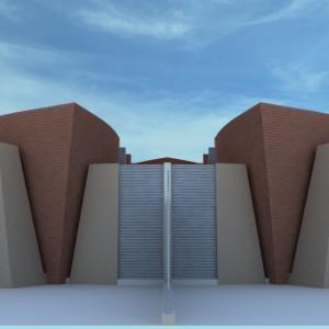 Projeto Casa Geminada 01 - Vista 04