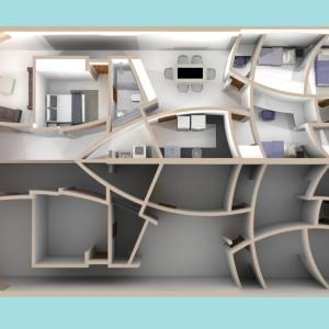 Projeto Casa Geminada 01 - Planta baixa